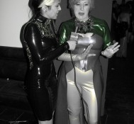 The Baroness, Latex designer for Gaga and Janet!
