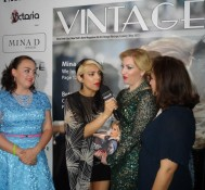 Vintage NYC Magazine Launch Party,Don't let Gita Cellei eat all the donuts!!! Part 1