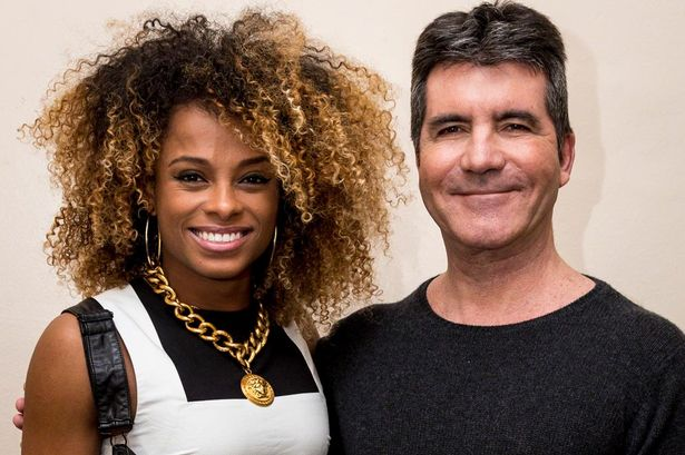 Fleur-East-and-Simon-Cowell